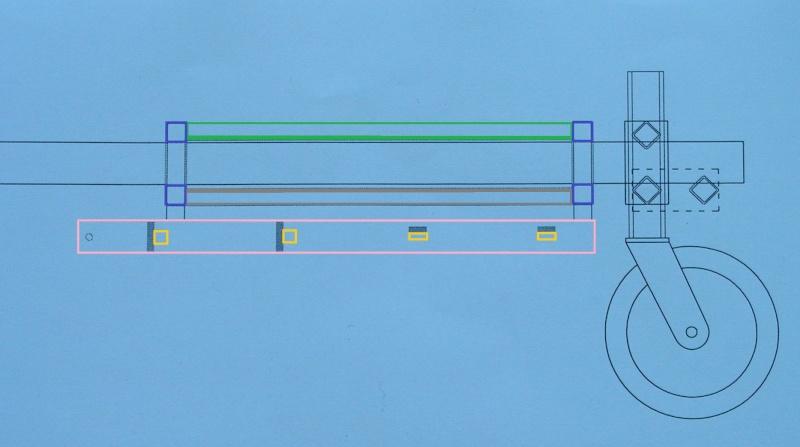 réflexion sur la conception d'un sulky de motoculture Alavat10