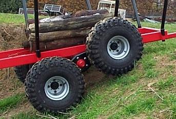 Sulky agricole pour motoculteur ou autres Tandem11