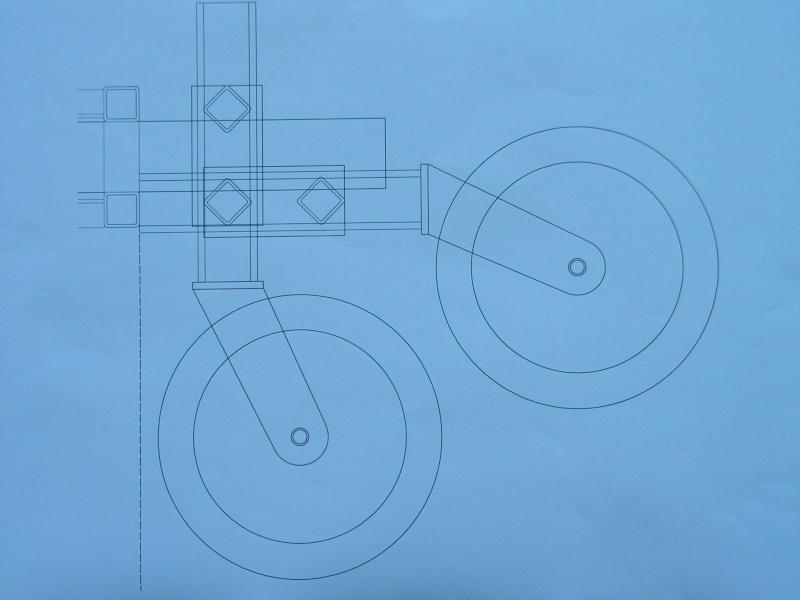 réflexion sur la conception d'un sulky de motoculture Vue_de10