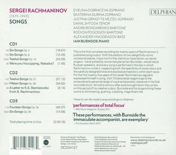 Petit guide discographique de la mélodie slave. 08019111
