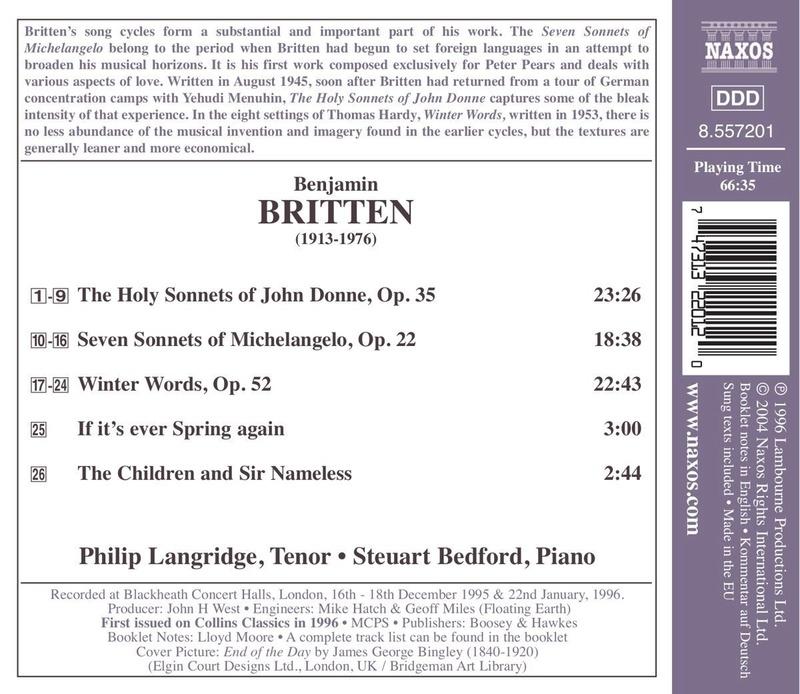 Petit guide discographique de la mélodie britannique. 715ccj10