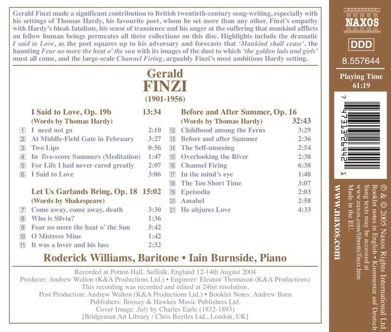 Petit guide discographique de la mélodie britannique. 71cym710