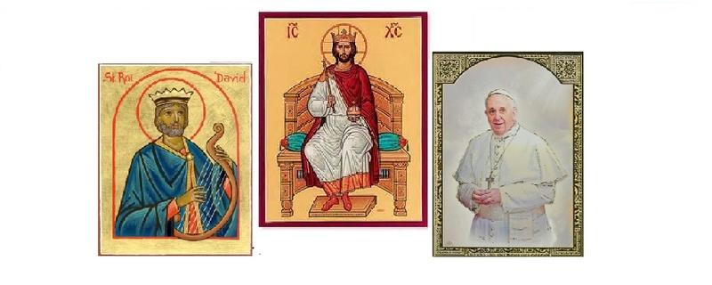 Le pape François, héritier du trône de David Le_pap10