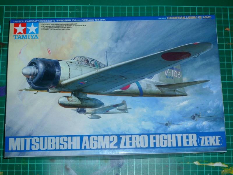 """Mitsubishi A6M Type 21 """"Zero"""" (Tamiya - 1/48) P1100418"""