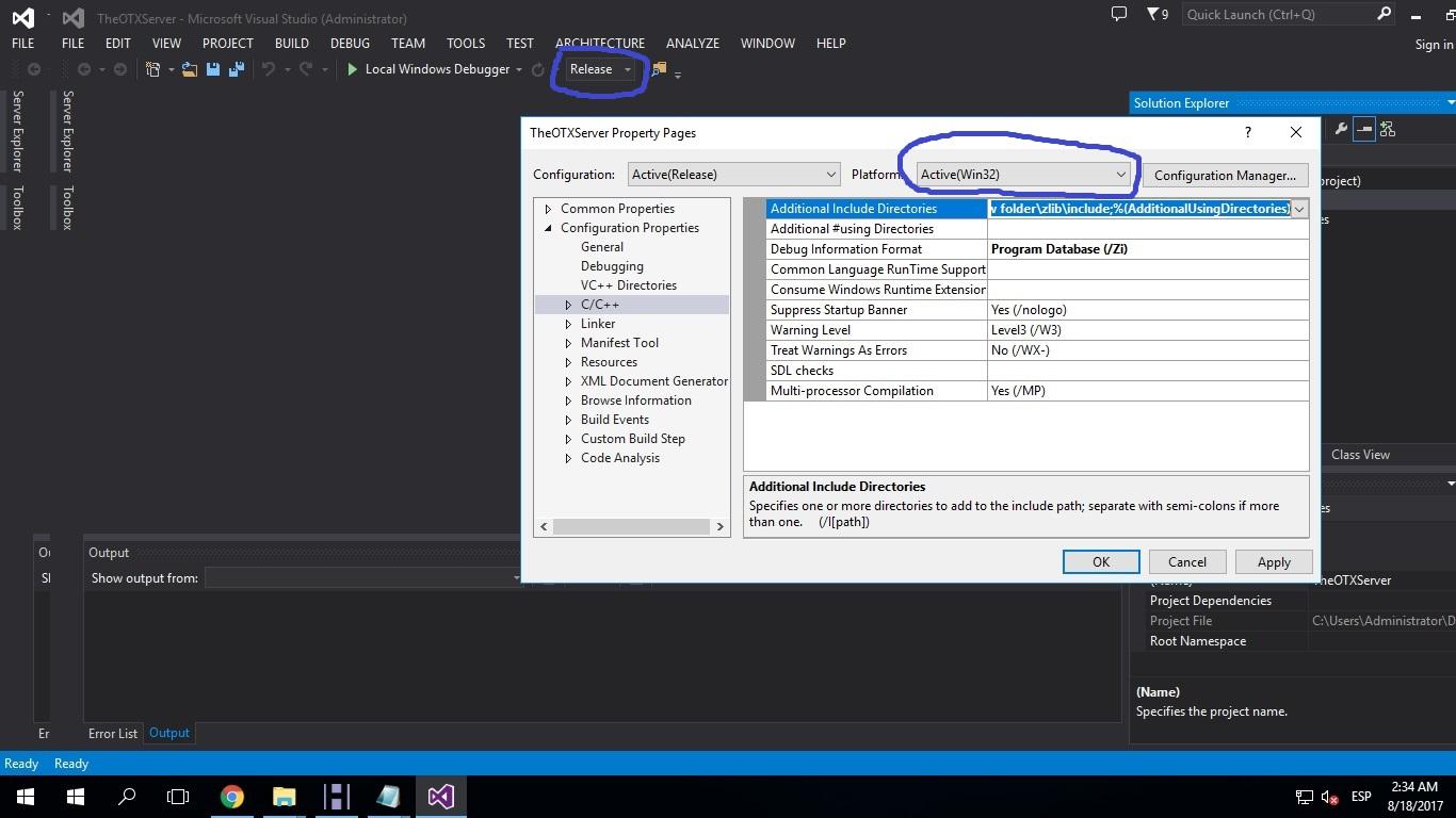 [Tutorial] Compilar Otx 2.9 (versiones bajas) y Tfs 1.0 2_1_310