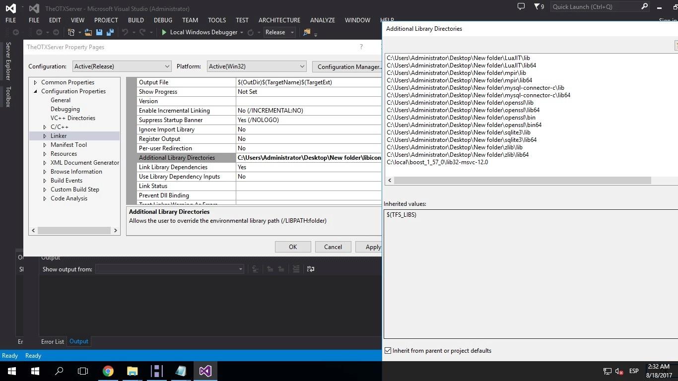 [Tutorial] Compilar Otx 2.9 (versiones bajas) y Tfs 1.0 Tuto810