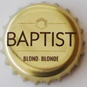 Baptist brasserie Van Steenberge  Belgique Baptis12