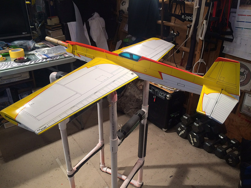 What's that big box by the back door... Or... The P-40 assy. is DONE. Shug_t10
