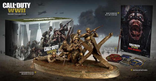 Call of Duty WW2 Collector et édition PRO Ww210