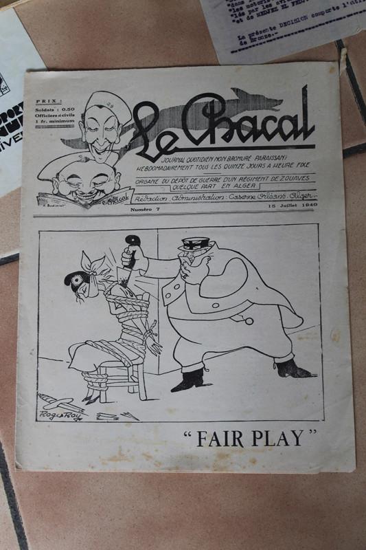 """Lot documents et photos """"de presse"""" 9ème Zouaves 1940-1941 ALPINS-JUIN4 [A CLOTURER] Img_5325"""