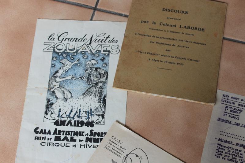 """Lot documents et photos """"de presse"""" 9ème Zouaves 1940-1941 ALPINS-JUIN4 [A CLOTURER] Img_5326"""