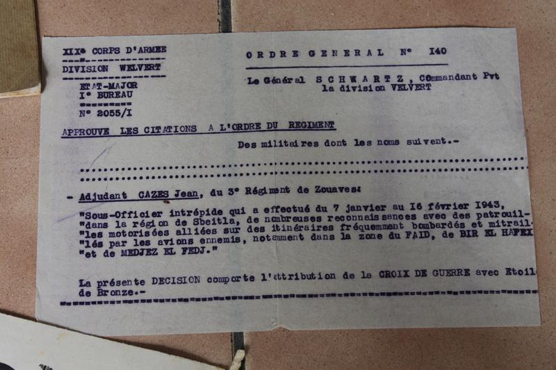 """Lot documents et photos """"de presse"""" 9ème Zouaves 1940-1941 ALPINS-JUIN4 [A CLOTURER] Img_5327"""