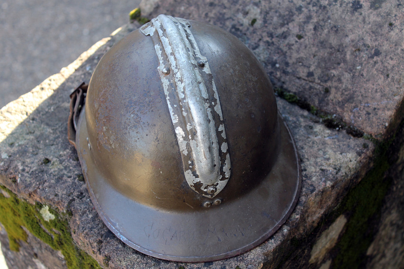 Casque adrian artillerie 26/15 gravé de partout [VENDU] Img_5410