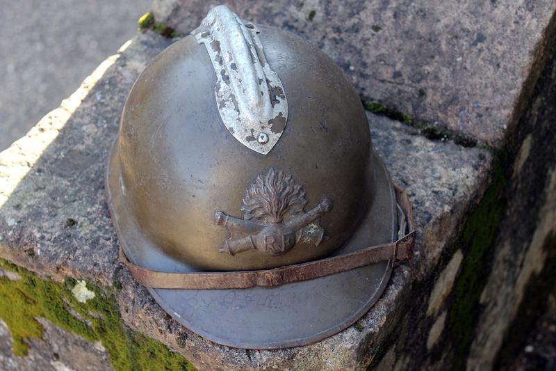 Casque adrian artillerie 26/15 gravé de partout [VENDU] Img_5413