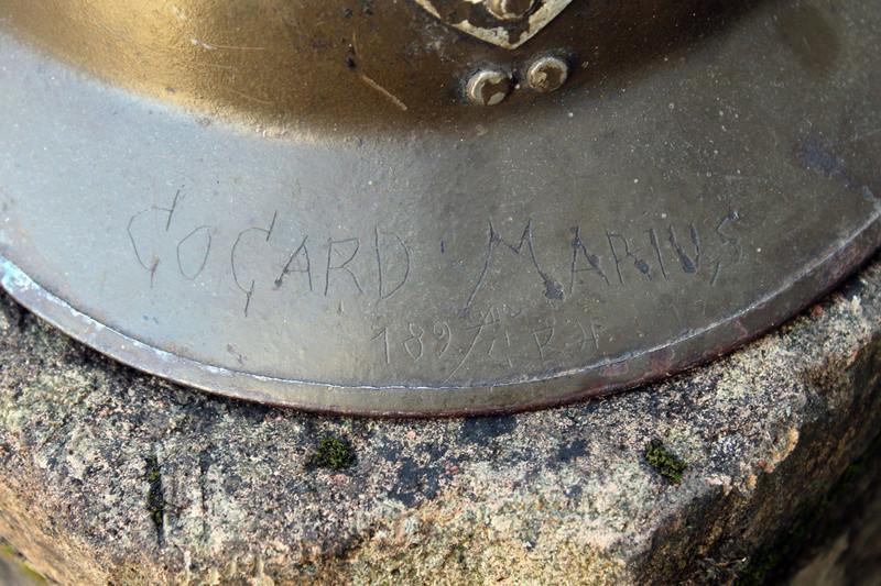 Casque adrian artillerie 26/15 gravé de partout [VENDU] Img_5414