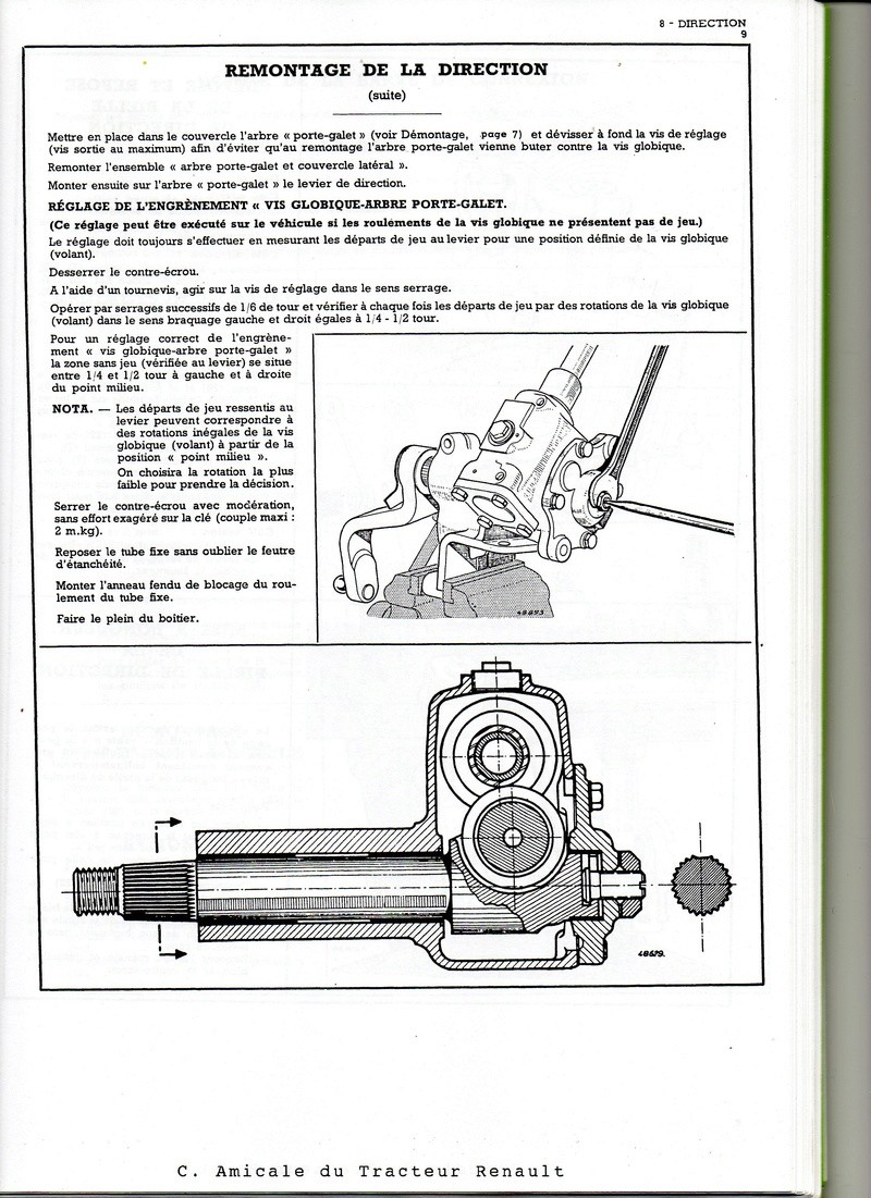 Fuite d'huile boitier de direction N72 Direct11