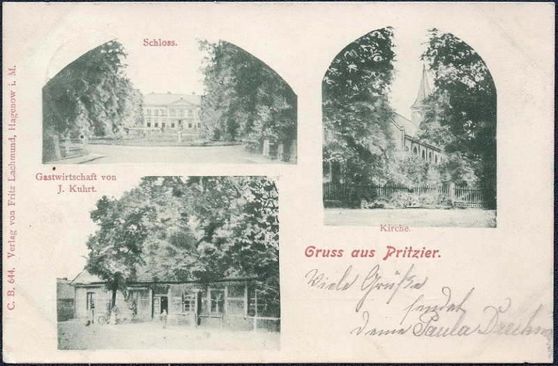 Mecklenburg und Pommern auf Ansichtskarten 1900-013