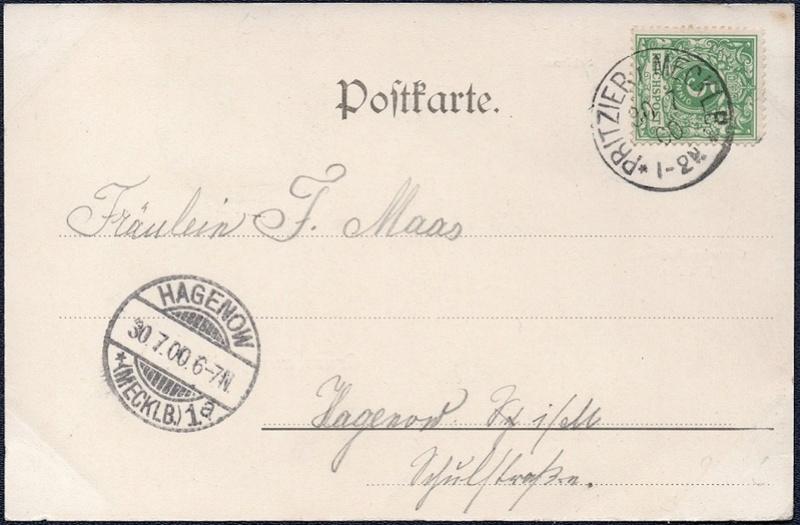 Mecklenburg und Pommern auf Ansichtskarten 1900-014