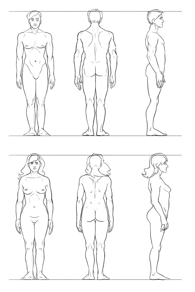 Le carnet de croquis d'Eyrann [Nudity] Body_t10