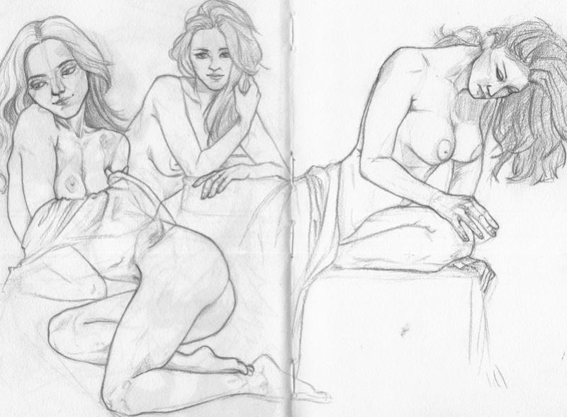 Le carnet de croquis d'Eyrann [Nudity] Img00213