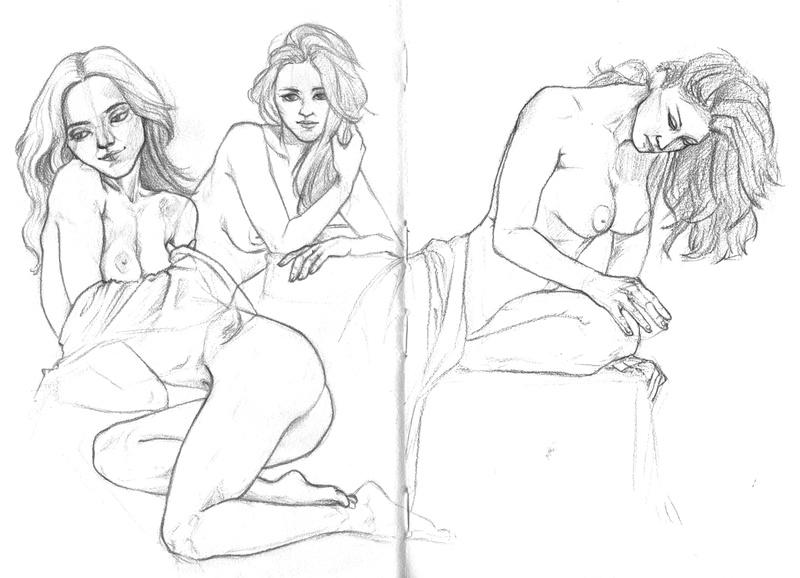 Le carnet de croquis d'Eyrann [Nudity] Trad0110