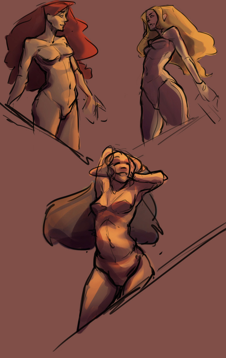 Le carnet de croquis d'Eyrann [Nudity] Untitl10