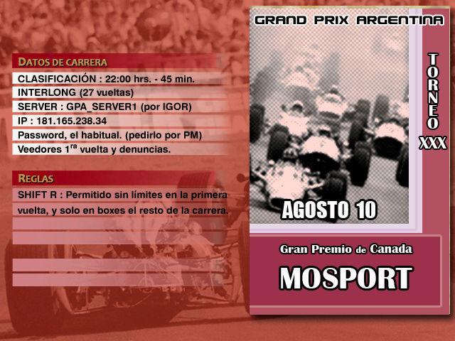 Torneo Edicion XXX - Mosport Mospor10