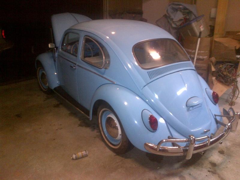 "64 beetle ""peaches"" Huntsv20"