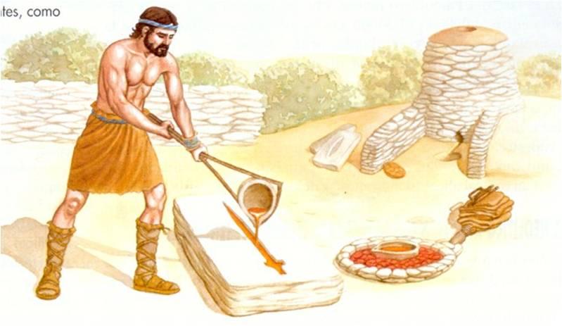 ~~Prehistoria~~ De la minería y la metalurgia antigua: aprovechamiento mineral y transformaciones técnicas Imagen17