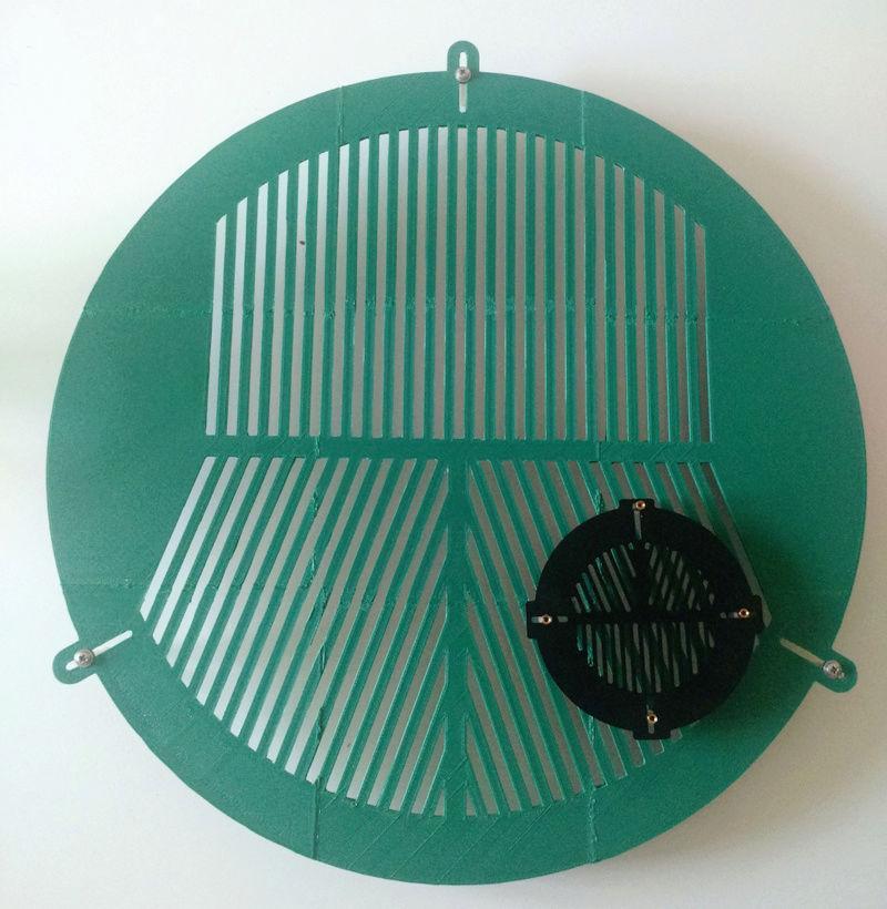 Masque de bahtinov 400mm Baht4023