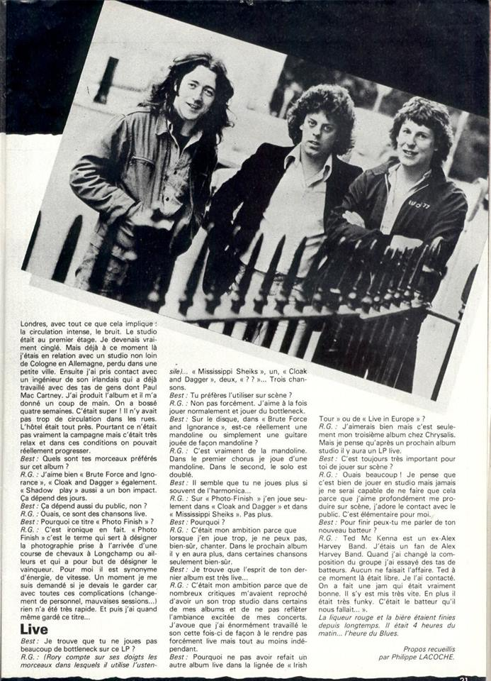 Rory dans les revues et les mags - Page 21 20621810