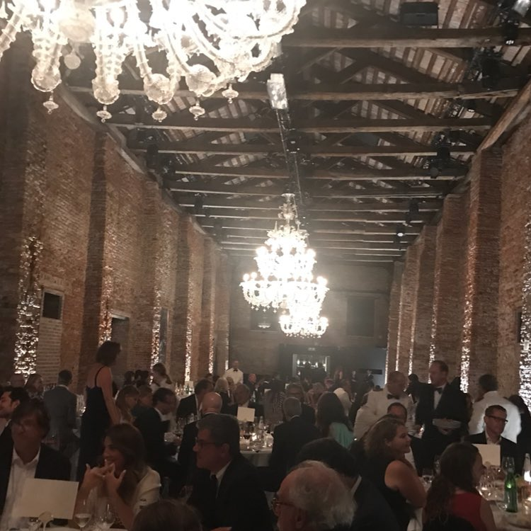 Suburbicon dinner at the Cipriani last night........ 21371610