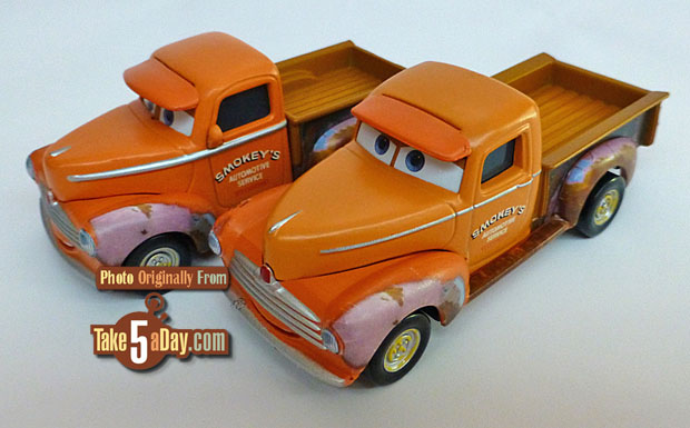 Cruz is different ! Et les autres variants de Cars 3 Smokey10