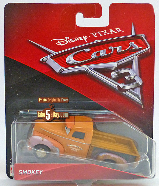 Cruz is different ! Et les autres variants de Cars 3 Smokey11