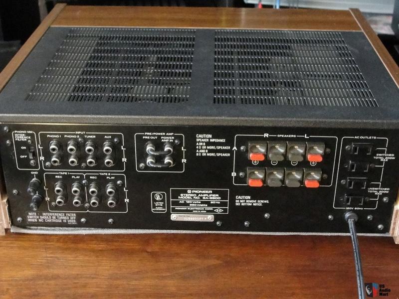 Amplificateur PIONEER SA-508 Ampli_11