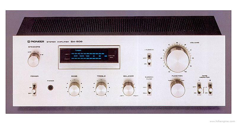 Amplificateur PIONEER SA-508 Pionee10