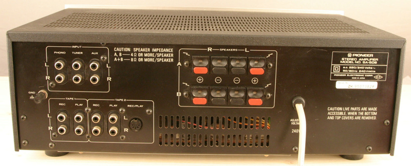 Amplificateur PIONEER SA-508 Pionee11