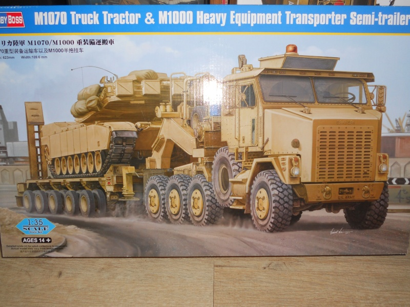 M 1070 truck tractor & M 1000  Dscn2241