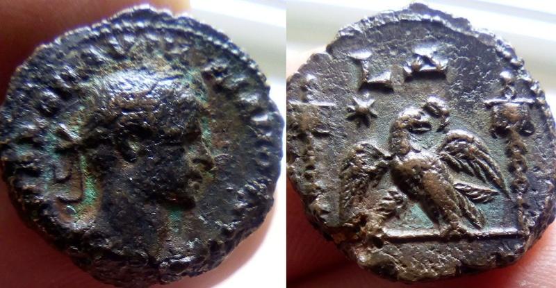 Tétradrachme égyptien d'Alexandrie pour Aurélien ... 111110