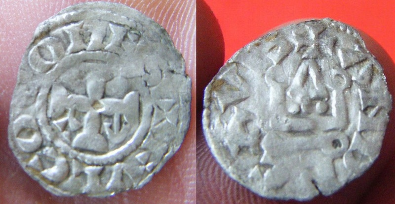 Obole du Comté d'Anjou pour Foulques V (1109-1129) 1211