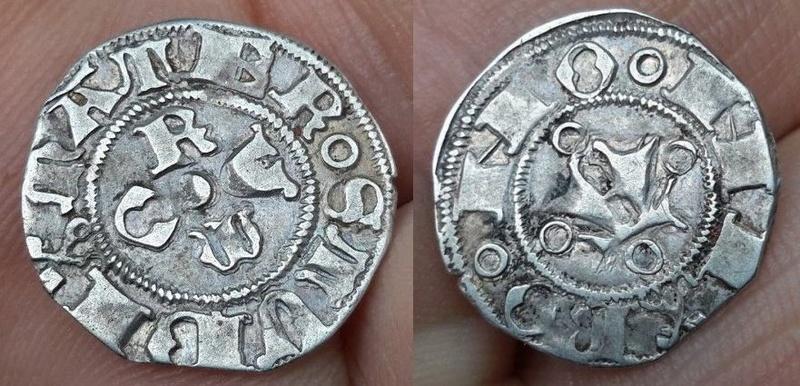 "Denier de Jean XXIII (1410-1415) ""Antipape"", Bologne Ab10"