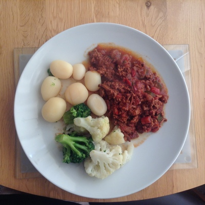 Lamb Mince with Rich Tomato Sauce 29092110