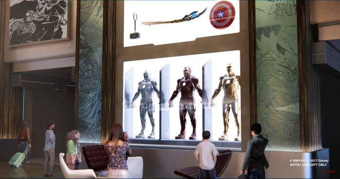 [Officiel] Disney's Hotel New York rethématisé - The Art of Marvel (fermeture en janvier 2019 jusqu'à 2020) Fb_img21