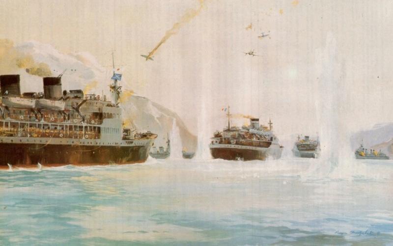 Les paquebots et cargos armés en guerre  1el_ka10