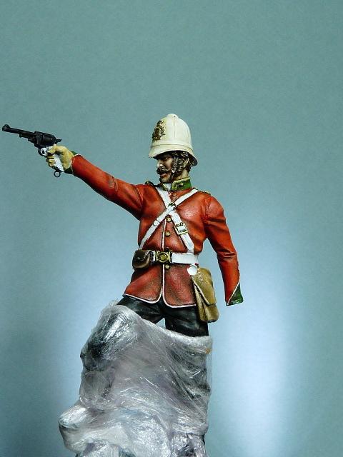 Officier Britannique pendant la guerre contre les Zoulous P1030418