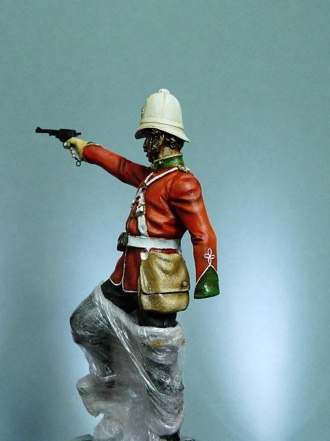 Officier Britannique pendant la guerre contre les Zoulous P1030419