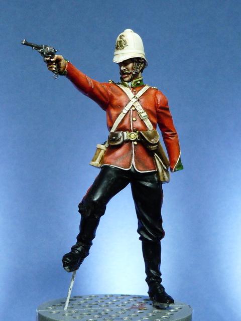 Officier Britannique pendant la guerre contre les Zoulous P1030421