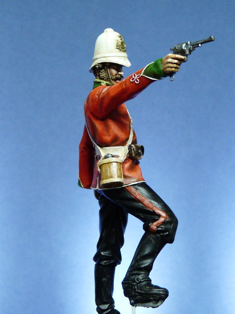 Officier Britannique pendant la guerre contre les Zoulous P1030422