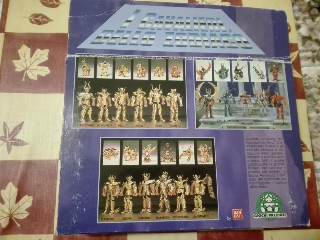 Vendo CAVALIERI DELLO ZODIACO SCATOLA TEMPIO 1989 Pegasu12