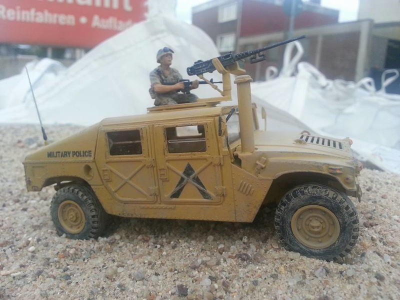 M1025 Armored Carrier 1/35 Academy Hummer10